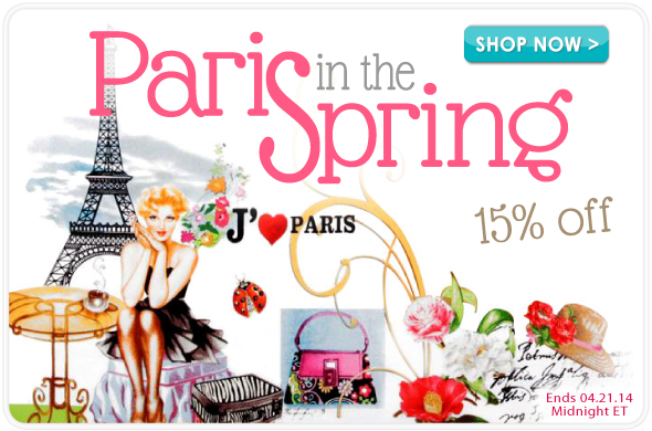April in Paris Sale