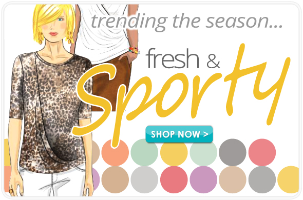 Spring Wardrobe Trend - Fresh & Sporty
