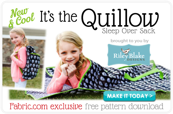 Riley Blake Quillow Free Pattern Download